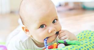 تخفيف آلام الأطفال خلال كل مراحل التسنين